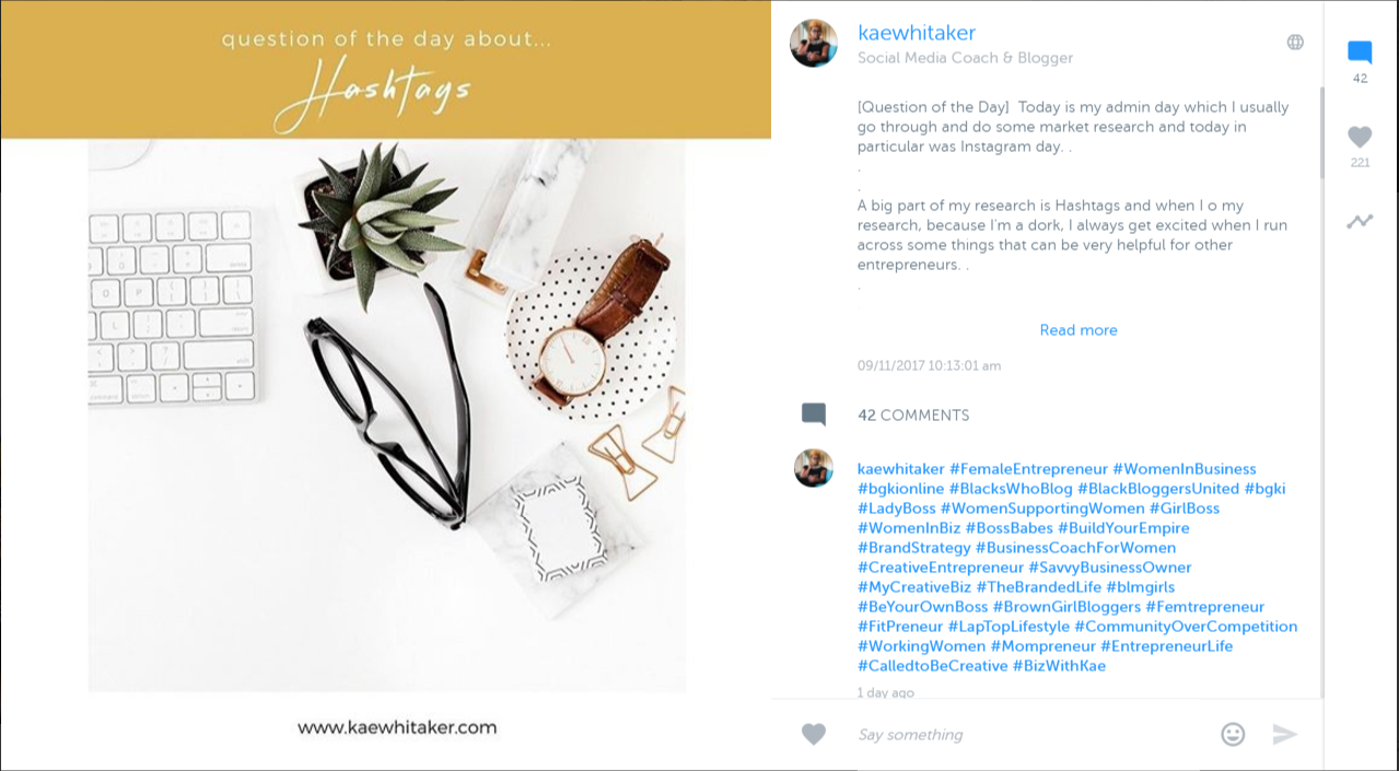 instagram results for blog post how to create opt ins in 1 day