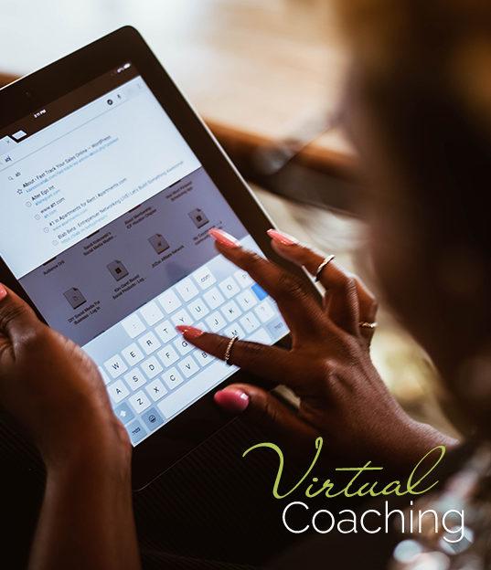 virtual group coaching with kae